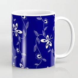 Flowing Flowers Coffee Mug
