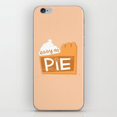 Easy as Pumpkin Pie iPhone & iPod Skin