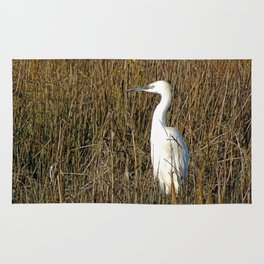 Little Egret Rug