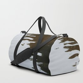Dark and Clear Water Duffle Bag