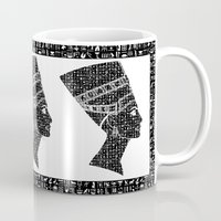 queen Mugs featuring Queen by Panda Cool