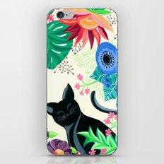 Natures Confetti Cat  iPhone & iPod Skin