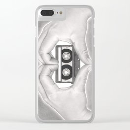 Love 02 Clear iPhone Case