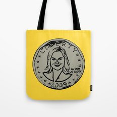 Leslie Knope  |  Susan B. Anthony Coin  |  Parks and Recreation Tote Bag