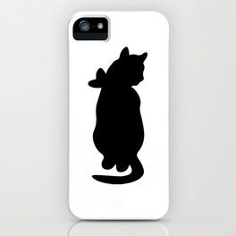 Kitty with a Bow iPhone Case