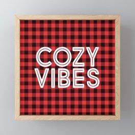 Cozy Vibes Framed Mini Art Print