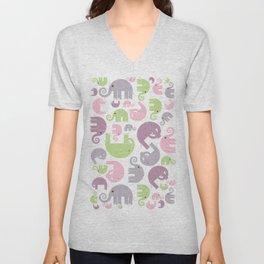 Elephant Stomp Unisex V-Neck