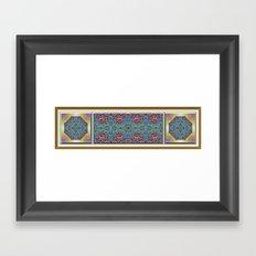 A Southwestern Garden Framed Art Print