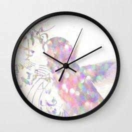 sparkle Birdie Wall Clock