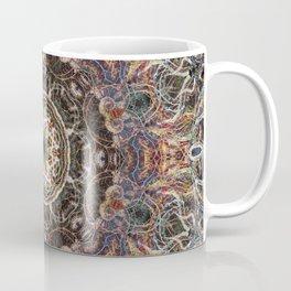 Mandala with ammonites Coffee Mug