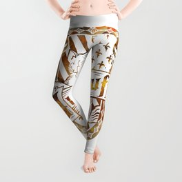 Hufflepuff Crest Leggings