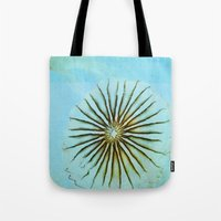 transparent Tote Bags featuring Transparent-Sea by Bella Blue Photography