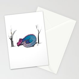 Let Sleeping Dragons Lie Stationery Cards