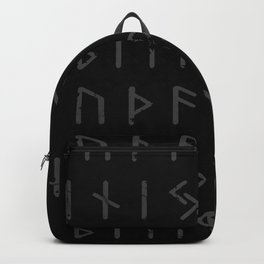 Futhark full print (viking runes) Backpack