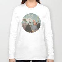 garden Long Sleeve T-shirts featuring Secrets by Douglas Hale