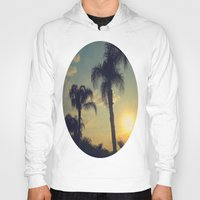 florida Hoodies featuring Florida by Jillian Stanton
