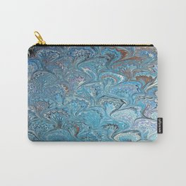 Frog Feet Water Marbling Carry-All Pouch
