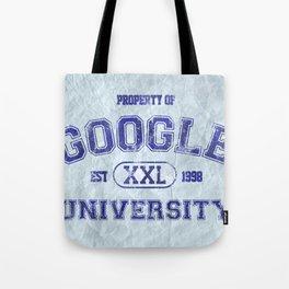 Google University Tote Bag