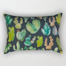 Cactus at night Rectangular Pillow