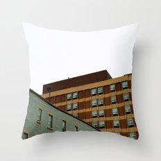 Sunday Symmetry Throw Pillow