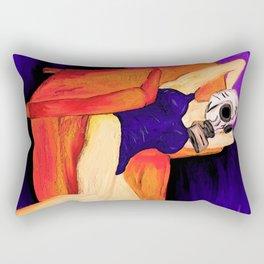 Hooperland Girl Rectangular Pillow