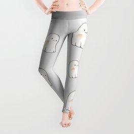 Poor ghost Leggings
