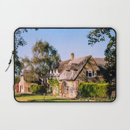 Autumn village. (v2) Laptop Sleeve