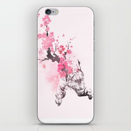 Blooming attack iPhone Skin