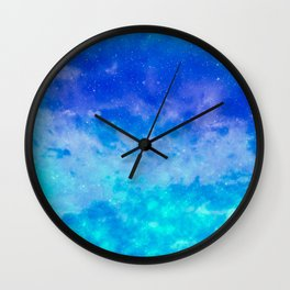 Sweet Blue Dreams Wall Clock