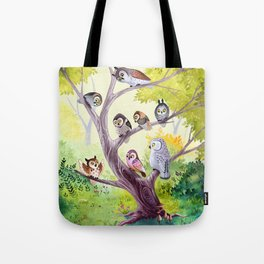 The Owl Story Tote Bag