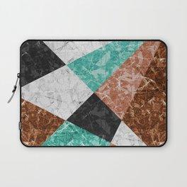 Marble Geometric Background G434 Laptop Sleeve