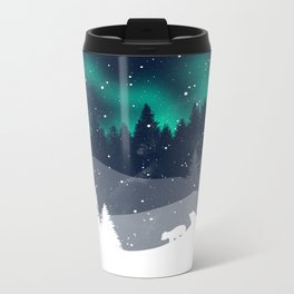 Stardust Horizon Metal Travel Mug