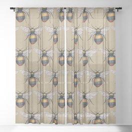 Bumblebee Sheer Curtain