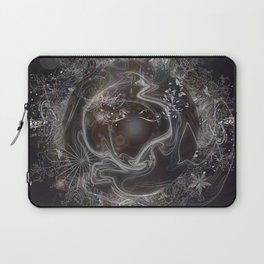 When Worlds Collide-Abstract Universe Laptop Sleeve