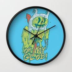 Zombie Finn Wall Clock
