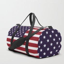 USA flag - Painterly impressionism Duffle Bag