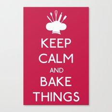 Bake Things Canvas Print