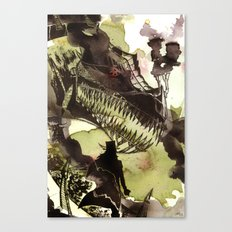 Steampunk Dragon Canvas Print