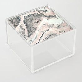 Lady in pink Acrylic Box
