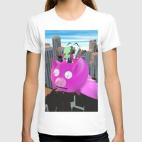 invader zim T-shirts featuring Invader Zim by inusualstuff