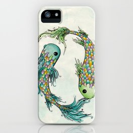 Chasing Tails iPhone Case