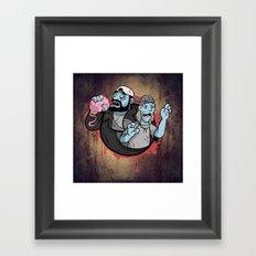 Bong of the Dead Framed Art Print
