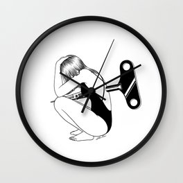 Everything that kills me makes me feel alive Wall Clock