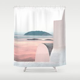 This is Greece Shower Curtain