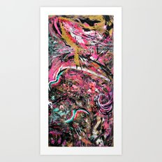 Pink Matter // Frank Ocean Art Print