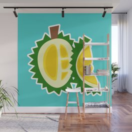 durian fruit barbed plant tropical Wall Mural
