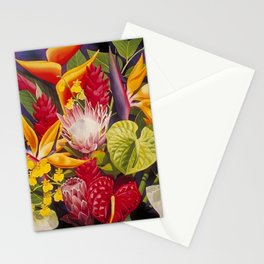 Tropical Arrangement #2 Stationery Cards