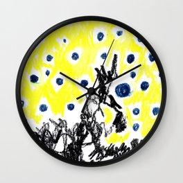 blue balloons Wall Clock