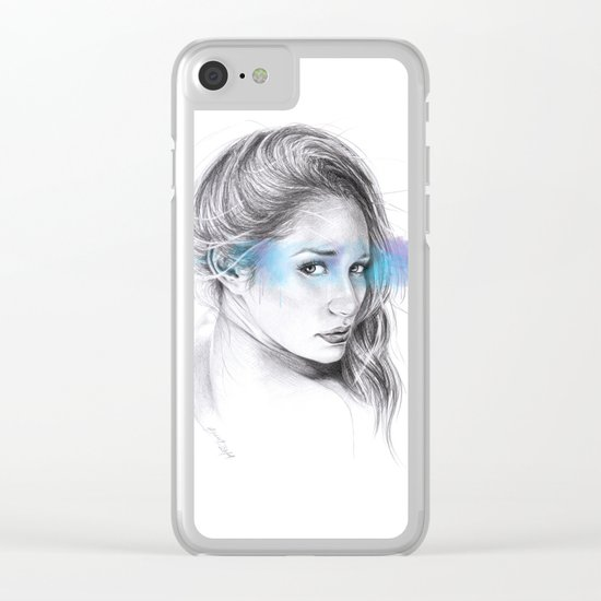 Look away, look away... Clear iPhone Case