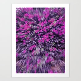 Bugambilia Abstraction & Impresionism Art Print